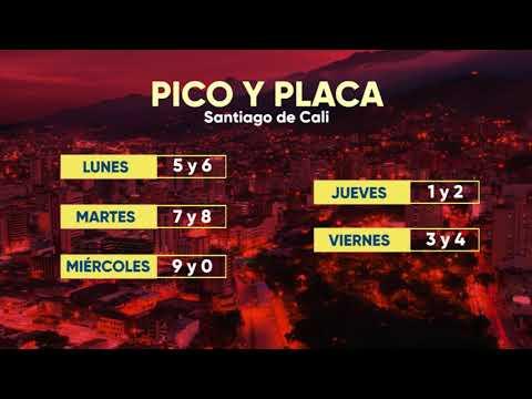 Pico y Placa en Cali 2020   Telepacífico Noticias