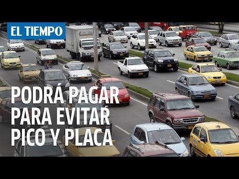 Ahora podrá pagar para evitar pico y placa en Bogotá